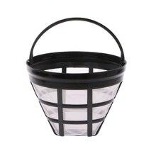 Сменный фильтр для кофе многоразовые Многоразовые корзины чашки стиль пивоваренный инструмент