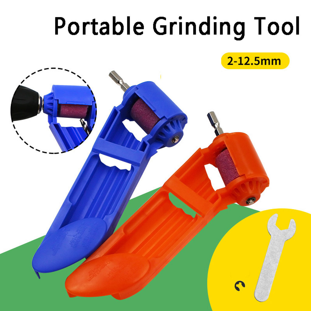 2020 hot new products Portable Grinding Wheel Drill Bit Sharpener Titanium Drill Power Tool Dropshipping Accessories Furniture