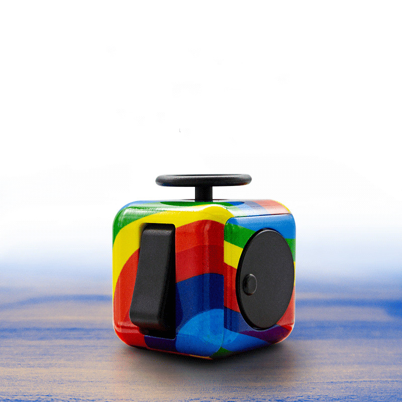 Stress Reduction Fidget Toy Autismo Toys Stress Relief Magic Cubes Squeeze Fun Relax Reliever Puzzle Desk Finger Toy For Adults