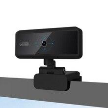 цена на HD 1080P Webcam 5 Megapixel Webcam Built-in Microphone Auto Focus  Video Call Computer Peripheral Web Camera for PC Laptop
