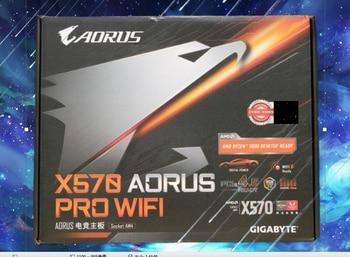 X570 AORUS PRO WIFI motherboard +R7 3700X/R7 3800X/R9 3900X CPU motherboard+CPU set
