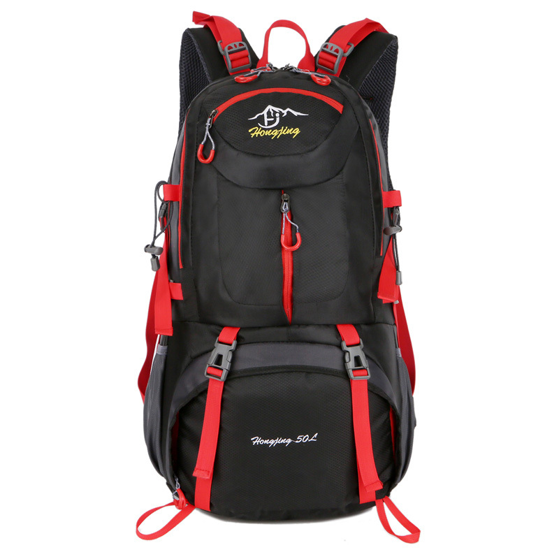 Cross Border For 40L 50L 60L Mountaineering Bag Hiking Travel Bag Large Capacity Outdoor Sports Backpack
