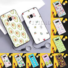 Abacate kawaii Estojo para Samsung A10 20 30 40 50 60 70 A20E A10 20 30 40 50(China)