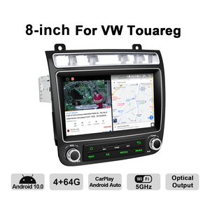 """Image 4 - New Porduct 8""""Head unit Android 10 Auto Car Radio Stereo For Volkswagen VW Touareg Multimedia Carplay Cassette Tape Recorder"""