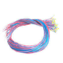 40pcs/lot 0402 0603 0805 1206 SMD Model Train HO N OO Scale Pre-soldered Micro Litz Wired LED Leads Wires 20cm