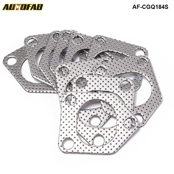10Pcs/lot Aluminum Graphite Turbo To Manifold Gasket For BMW E36, E46, E39 530d M57 AF-CGQ184S image