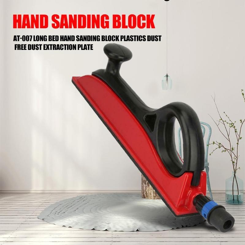 AT-007 Hand Sanding Block Polishing Pad Lathe Wood Carving No Deformation No Pit Smooth Grinding Woodworking Tools