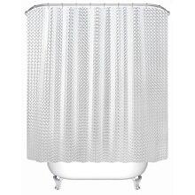 SDARISB пластиковый PEVA 3d водонепроницаемый занавеска для душа прозрачный белый прозрачный занавеска для ванной Роскошные занавески для ванной с 12 крючками