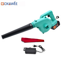 20V Cordless Electric Air Blower 3.0AH Lithium Battery Vacuum Cleaner Blowing Dust Collecting Computer Cleaner Air Blowers Tool