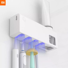 Stock Xiaomi Mi Dr.Meng UVC Smart Disinfection Toothbrush Holder UV Sterilization Removable 99.99% Rate