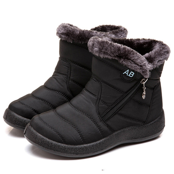 Women Boots Waterproof Snow For Winter Shoes Casual Lightweight Ankle Botas Mujer Warm Female Booties