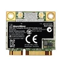 Dual Band Bcm94352Hmb Bcm94352 802.11/Ac Aw-Ce123H 867Mbps Wifi Bluetooth 4.0 Mini Pci-e Sem Fio Wi-Fi