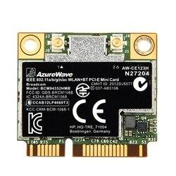 Dwuzakresowy Bcm94352Hmb Bcm94352 802.11/Ac 867 mb/s Wifi Bluetooth 4.0 Mini Pci-E karta bezprzewodowa Aw-Ce123H bezprzewodowy dostęp do internetu