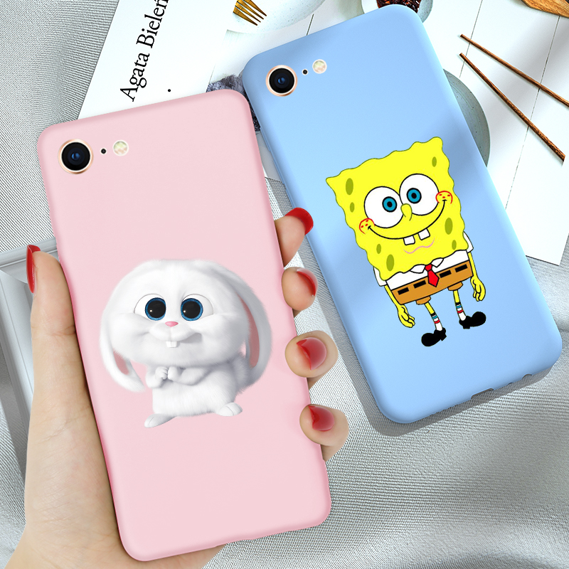 FOR Coque iPhone 6 6S 7 8 Plus X XR XS 11 PRO MAX Case Cover