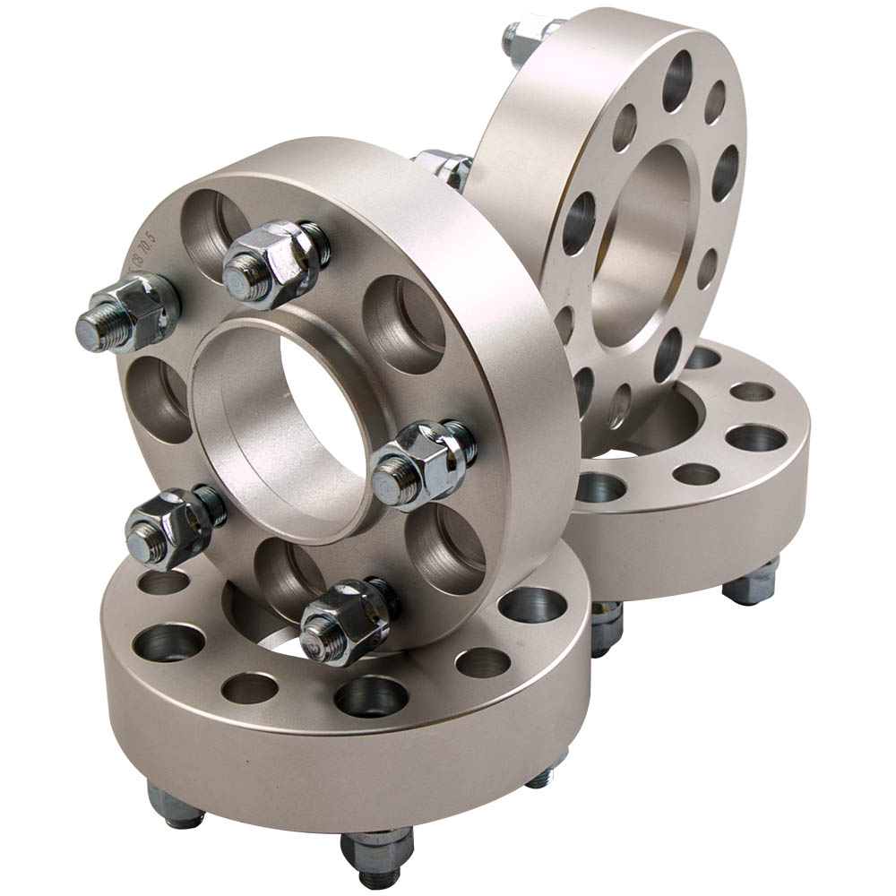 4x Wheel Spacer Hub Centric M20x1.27 1/2 35mm For FORD RANGER MUSTANG EXPLORER 5x114.3mm Or 5x4.5 1/2stud