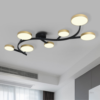 Nordic LED ceiling lamp creative personality wrought iron living room dining room lamp home simple modern bedroom lamp chandelier nordic industrial style post modern simple creative personality dining room living room bedroom balcony