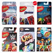 Mattel – jeux de cartes UNO Family Party