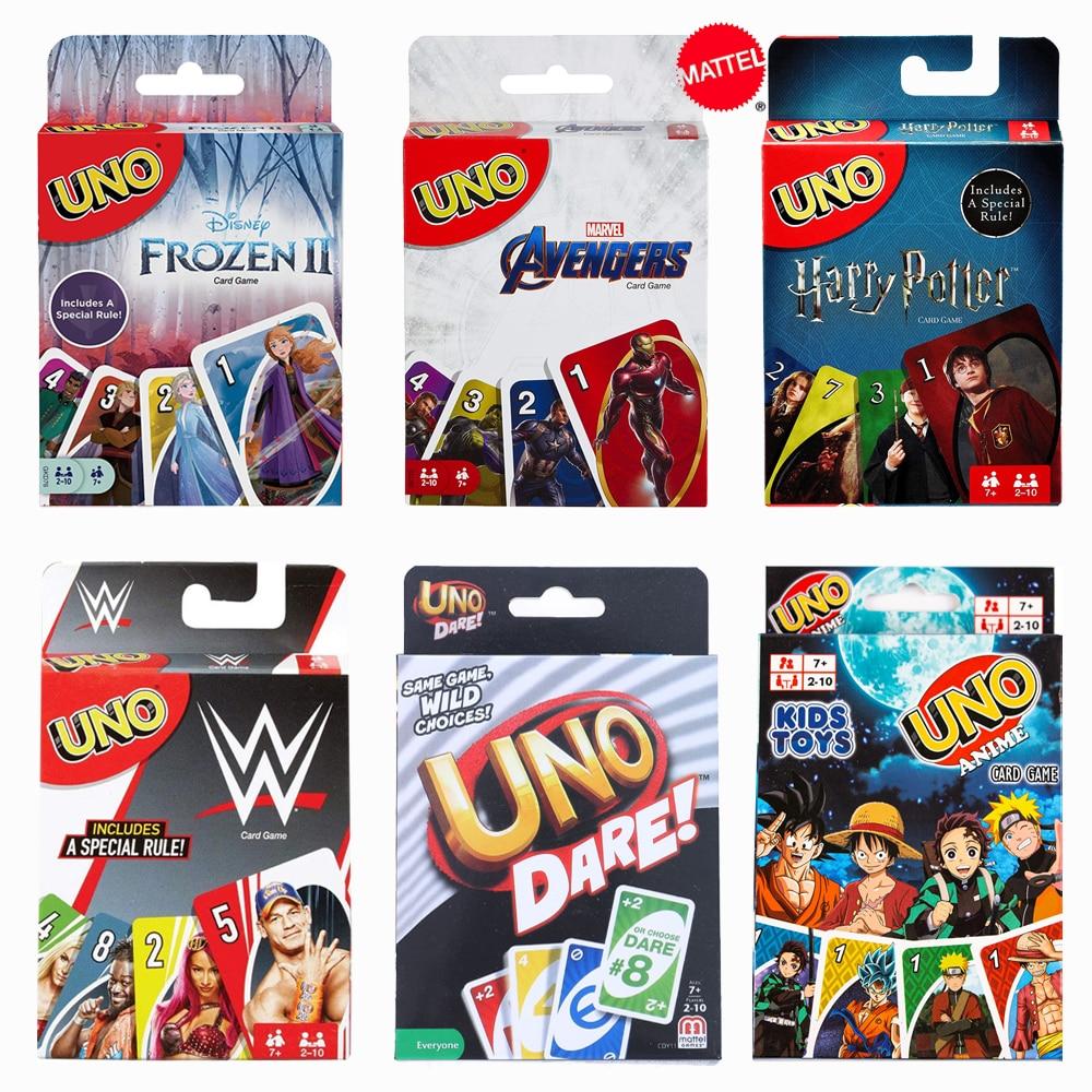 Mattel Games UNO семейвечерние праздничные карточные игры|Игры для вечеринки|   | АлиЭкспресс