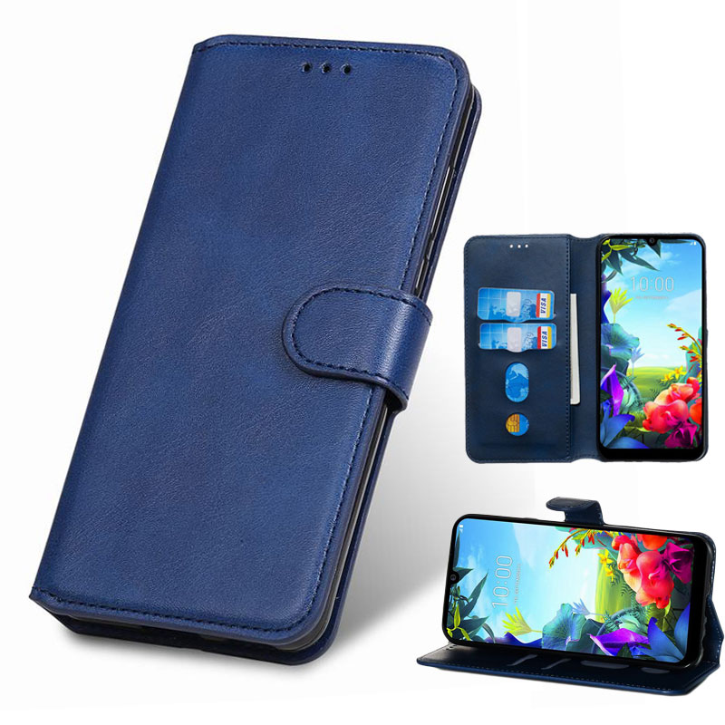Leather Case For LG K40S Cover Case LG K50S K20 K30 2019 W30 W10 V50 V40 V30 G7 G8 THINQ Q60 Q8 K12 Plus G8S DEVICE Phone Cases