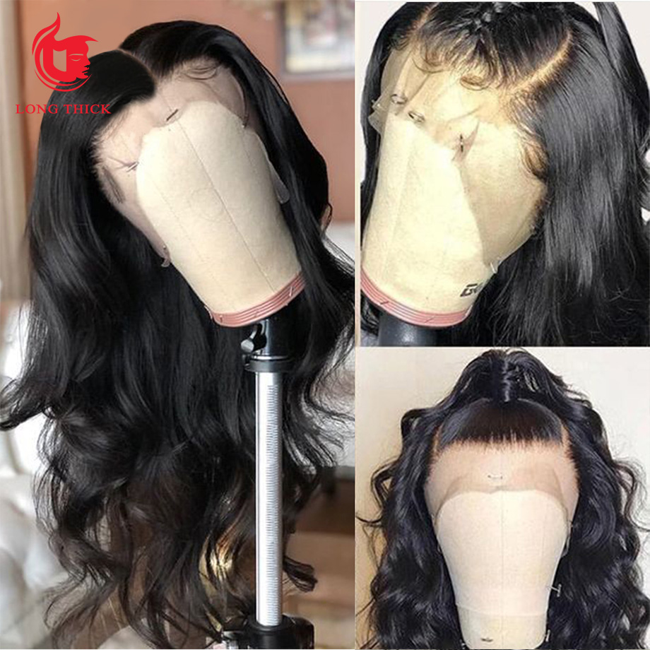 360 Lace frontal Wig  Pre Plucked  Virgin Hair   Transparent Lace Frontal Body Wave Wig 3