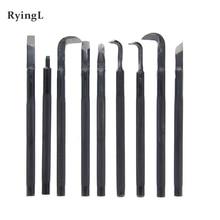 Narzędzia Bonsai kucie nóż do rzeźbienia wybierz nóż nóż do rysowania nóż do rzeźbienia uchwyt antypoślizgowy drut narzędzia do rzeźbienia