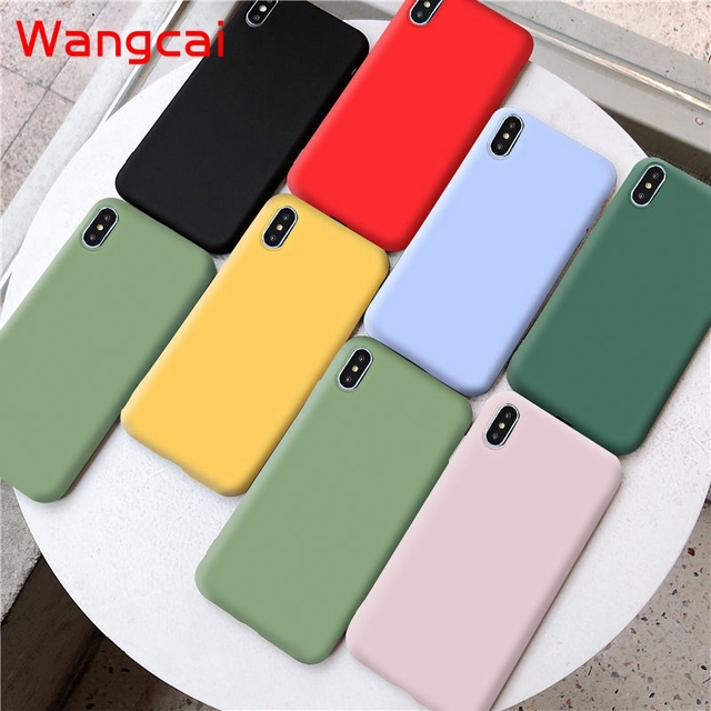 candy color silicone phone case for huawei p40 pro plus p30 lite pro p20 lite p10 p smart plus z 2019 2018 case matte tpu cover 2