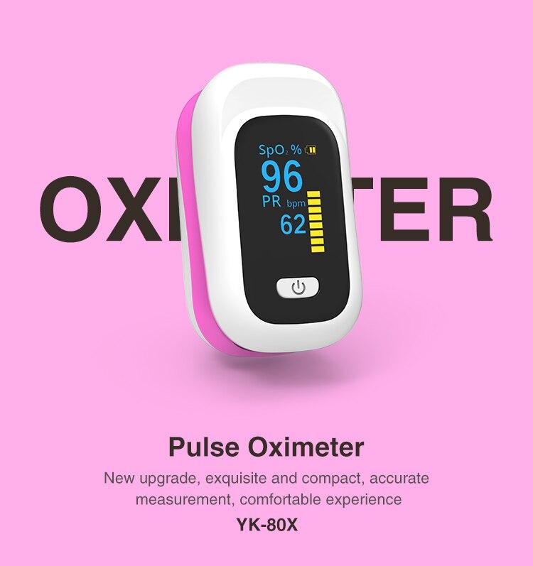 Digital Fingertip Pulse Oximeter Medical Home Health Blood Oxygen Saturation Meter Finger SPO2 PR Monitor Saturometro Monitor