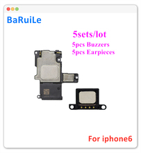 Комплект сменных динамиков BaRuiLe для iPhone 6 6S 7 8 Plus X, 5 комплектов