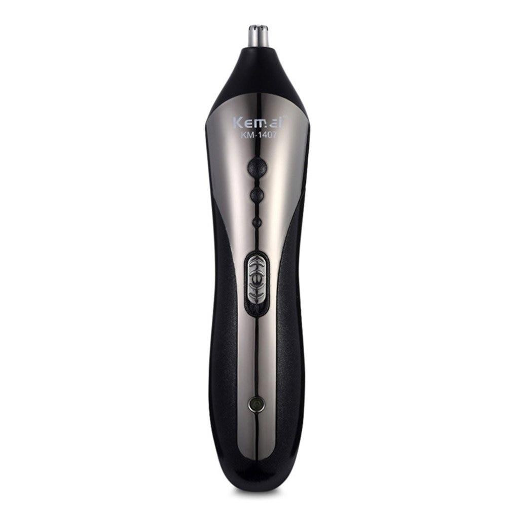 KEMEI KM-1409 Carbon Steel Head Hair Trimmer Rechargeable Electric Razor Men Beard Shaver Electric Hair Clipper