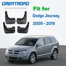 Moldada Palas Carro Para Dodge Journey Fiat Freemont Mudflaps Splash Guardas Mudguards 2009   2019 2015 2016 2017 2018