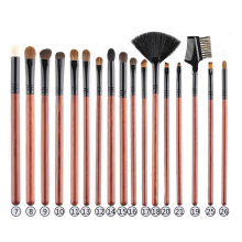 Makeup Brushes Set Professional Eyeshadow Blending Brush Set Natural Goat Hair Eye Shadow Brush Eyelash Eyebrow Eye Makeup Brush classic makeup brush m series natural goat hair tapered eyeshadow blending eye contour sweep smudge nose highlighter brush