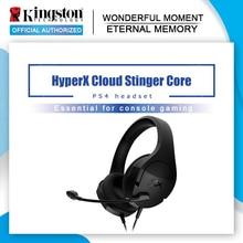 Kingston HyperX bulut Stinger çekirdek oyun kulaklığı ile mikrofon hafif kulaklık PS4 oyun makinesi