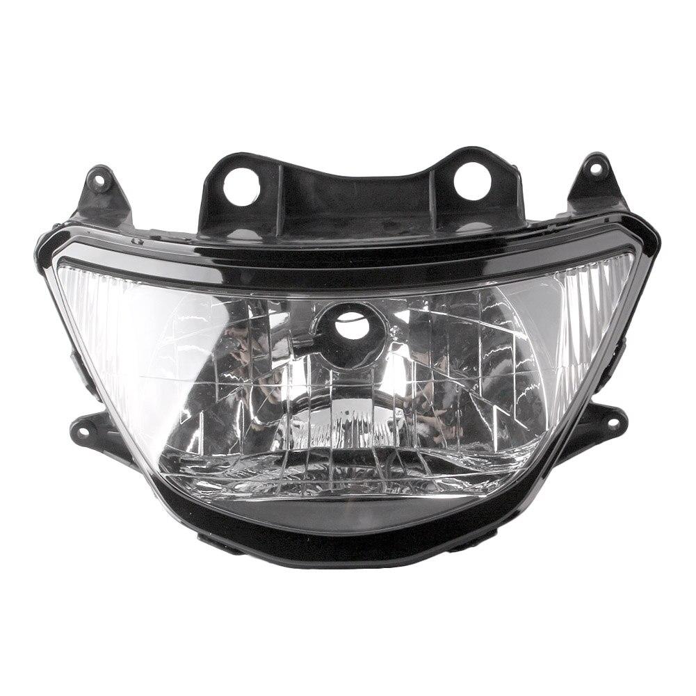 For Kawasaki Ninja ZX9R ZX-9R Front Headlight Headlamp Head Light Lamp Assembly 1998 1999 Motorbike Part Accessories ABS Plastic