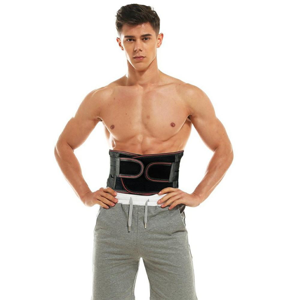 Sports Fitness Pressurized Weightlifting Squat Support Belt Waist Fixed Spring Support Belt Sedentary Office Belt