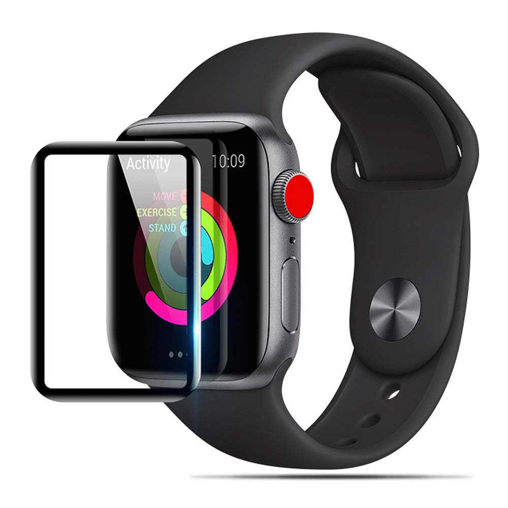 3D HD Tempered Glass case cover for Apple Watch 3 2 1 38MM 42MM Screen Protector film for iWatch 5 4 44MM 40MM Accessories