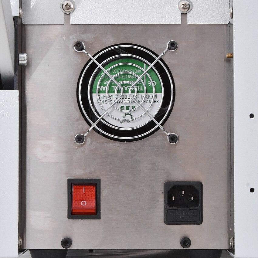 Máquina de corte automática quente HZX 100 da mangueira do pe do tubo do calor shrinkable da máquina de corte da tubulação do microcomputador 110 v/220 v 350 w 0 100mm - 2
