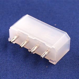 Image 3 - 100 pcs 5.08 mm 4 Pin D Shape Wafer Male Contact Pin Vertical PCB Solder 8981 IDE 4 Pin D ATX / EPS Power Connector