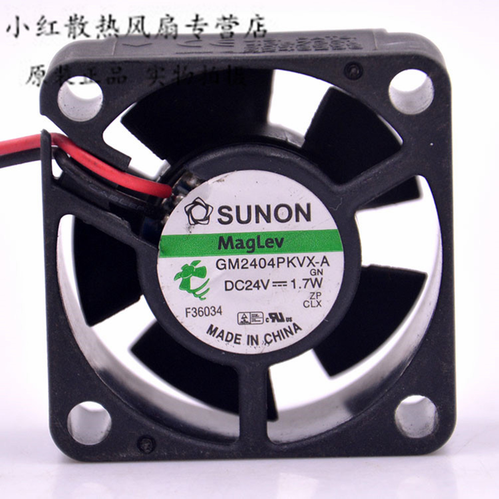 For Sunon GM2404PKVX-A 24V 1.7W 4cm 4020 4*4*<font><b>2CM</b></font> 40*40*20MM cpu cooler heatsink axial Cooling <font><b>Fan</b></font> image
