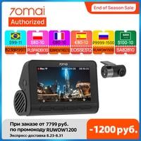 Neue 70mai Dash Cam A800S Fahrzeug 4K DVR 2021 Smart Kamera Gebaut-in GPS ADAS UHD Bild SONY IMX415 140FOV 24H Parkplatz Monitor
