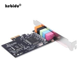 Sound-Card Audio-Interface CMI8738 Kebidu PCI-E 5 Chipset