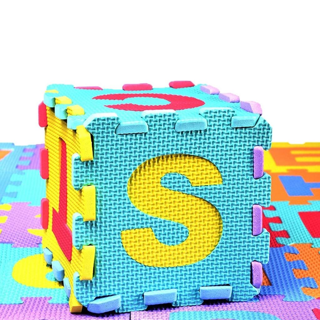 36 pcs Kid Puzzle Play Mat with EVA Foam Interlocking Exercise Tiles Pad Floor Carpet   Happy Baby Mama