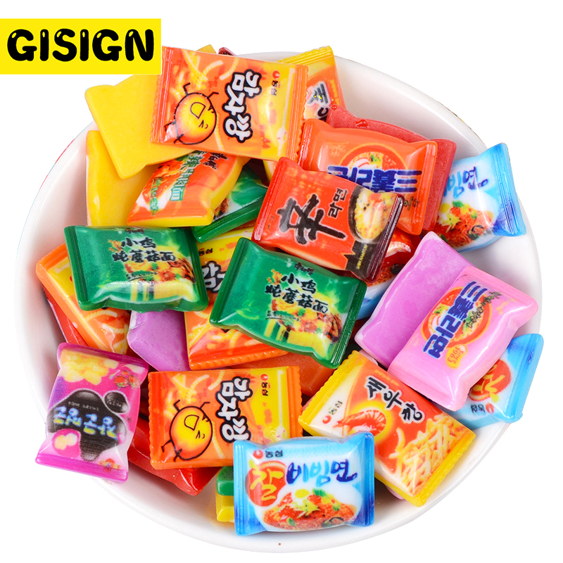 Instant Noodles Clay Charms For Slime Decor DIY Polymer Filler Addition Slime Accessories Toys Lizun Supplies Kit For Children