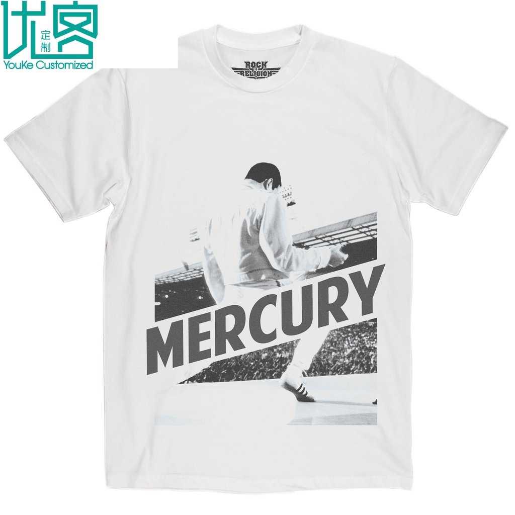Rock Is Religion Freddie Mercury T Shirt 2019 Summer Herren Short Sleeve T Shirt Tee