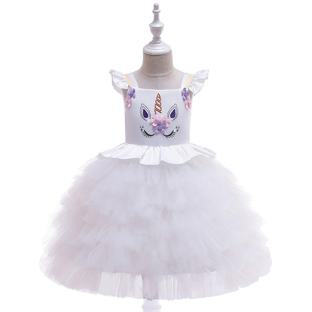 INS 2019 Girls Hot Selling Europe And America Flower Boys/Flower Girls Wedding Dress Christmas CHILDREN'S Dress Princess Dress