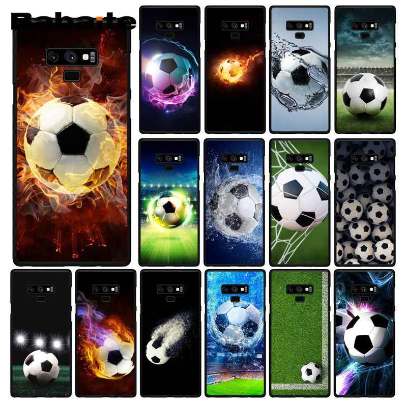 Babaite כדורגל כדורגל כדור על מים שריפת אש טלפון מקרה לסמסונג גלקסי A50 Note9 8 7 5 10 פרו j5 J6 ראש J7 DUO
