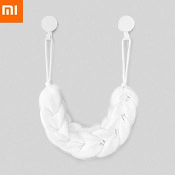 Oryginalna taśma do kąpieli Xiaomi Youpin biała bogata w piankową miękką teksturę łatwa do czyszczenia wysoka jakość tanie i dobre opinie CN (pochodzenie) Ready-to-go 2 kanały