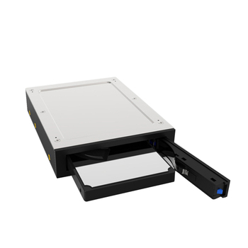 Hard Drive Enclosure 2.5 inch Internal Floppy Bay SATA III Tray-Less Mobile Rack for 3TB 7~12.5mm 2.5