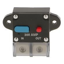 Yüksek akım 300 Amp 0 veya 4 ölçer AWG devre kesici 12 Volt araç ses sigorta
