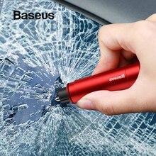 Baseus автомобильный молоток безопасности авто аварийный стеклянный выключатель окна ремень безопасности резак спасательный Спасательный Инструмент