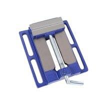 Высокоточный зажим на стол плоский верстак тиски фрезерный станок скамья дрель из алюминиевого сплава прочно ручные инструменты